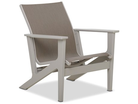 Telescope Casual Wexler Sling Recycled Plastic Lounge Chair