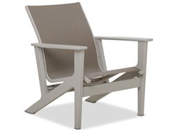 Wexler Sling Recycled Plastic Lounge Chair