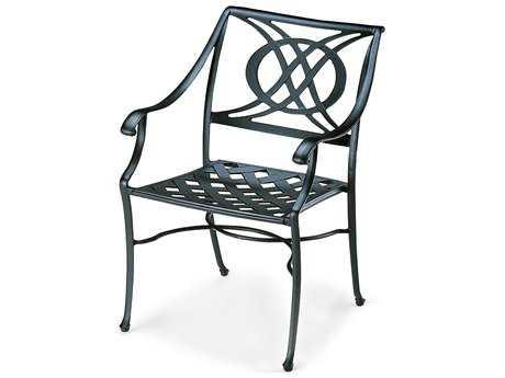 Telescope Casual Cadiz Cast Aluminum Stacking Arm Chair