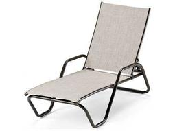 Gardenella Sling Aluminum Stackable Chaise Lounge