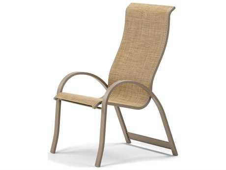 Telescope Casual Aruba II Sling Aluminum Stackable Dining Chair