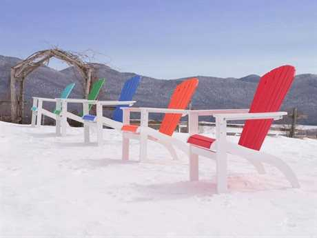 Telescope Casual Adirondack MGP Recycled Plastic Lounge Set