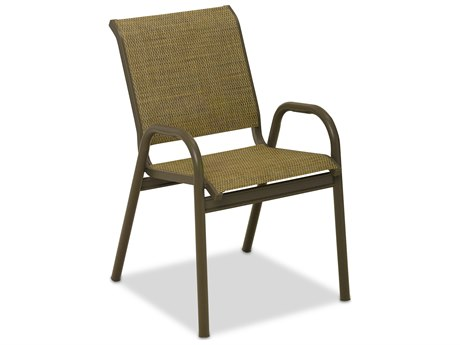Telescope Casual Reliance Sling Aluminum Stackable Bistro Chair