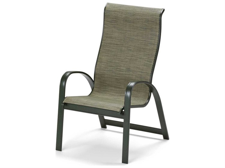 Telescope Casual Primera Sling Aluminum Supreme Stacking Dining Chair 9000
