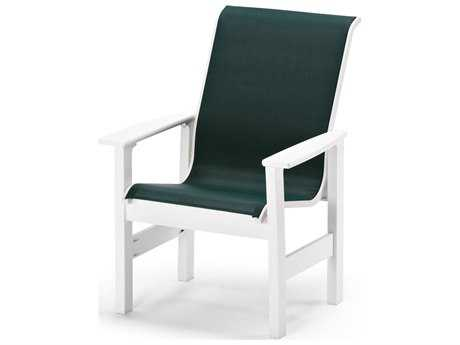 Telescope Casual Leeward MGP Sling Recycled Plastic Dining Chair
