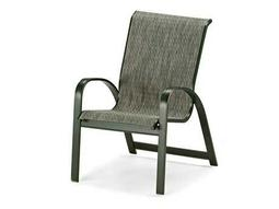 Primera Sling Aluminum Stacking Dining Chair