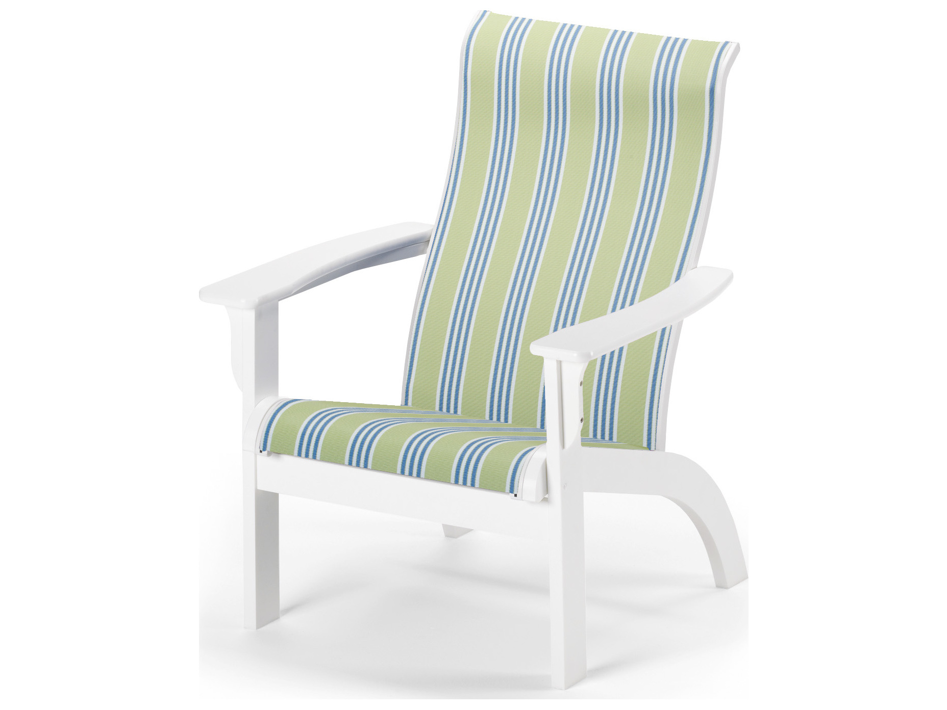 Telescope casual adirondack mgp sling recycled plastic lounge chair tc9a70 - Chaise adirondack plastique recycle costco ...