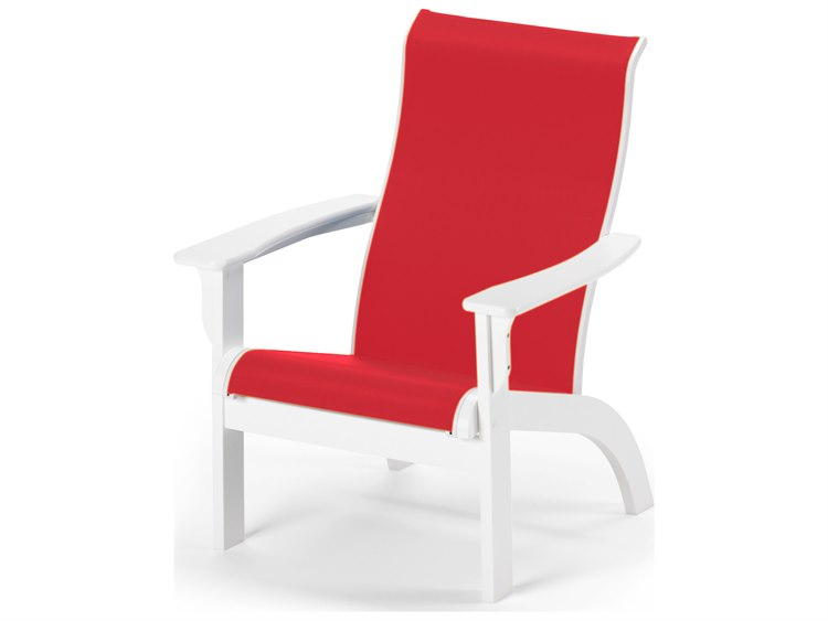 Telescope Casual Adirondack MGP Sling Recycled Plastic Lounge Chair