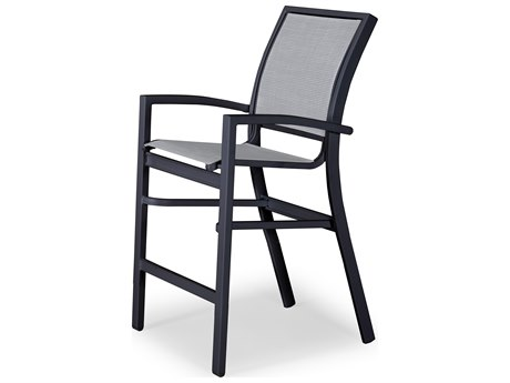 Telescope Casual Kendall Sling Aluminum Balcony Height Stacking Cafe Chair
