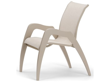Telescope Casual Dune MGP Sling Recycled Plastic Stackable Dining Chair