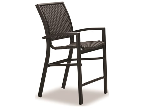 Telescope Casual Kendall Wicker Balcony Height Stacking Cafe Chair
