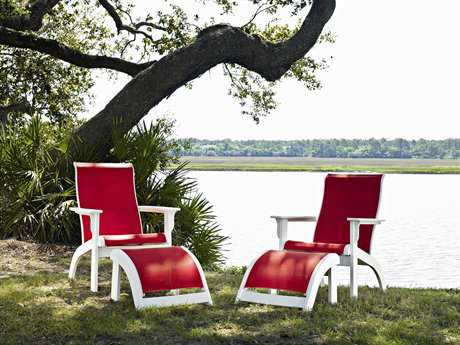 Telescope Casual Adirondack MGP Sling Recycled Plastic Lounge Set PatioLiving