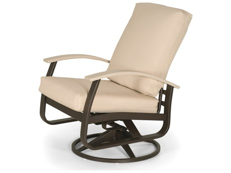 Telescope Casual Belle Isle Cushion Aluminum Swivel Rocker