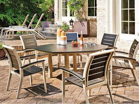 Telescope Casual Bazza Mgp Aluminum Bench Dining Set
