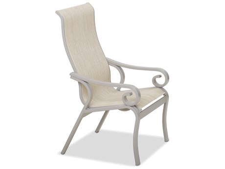 Telescope Casual Charleston Sling Aluminum Dining Arm Chair