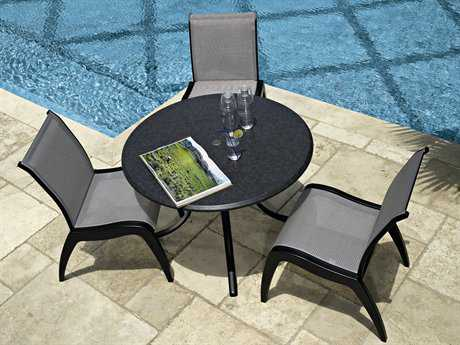Telescope Casual Dune MGP Sling Recycled Plastic Dining Set