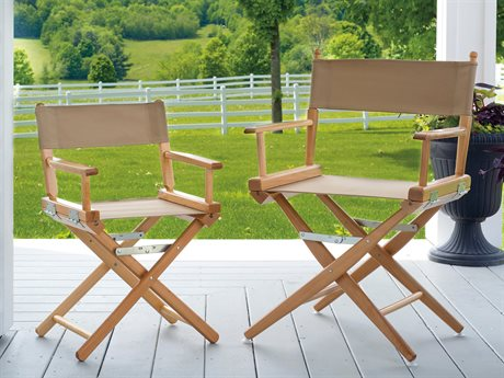 Telescope Casual Director Chairs Wood Lounge Set