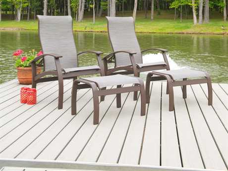 Telescope Casual Belle Isle Aluminum Lounge Set