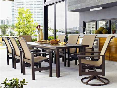 Telescope Casual Leeward MGP Sling Dining Set