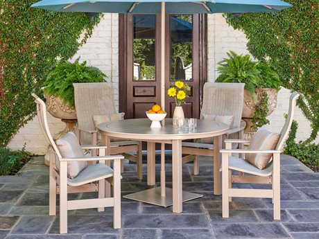 Telescope Casual Leeward Mgp Sling Recycled Plastic Dining Set