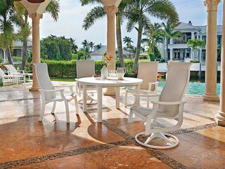 Telescope Casual St. Catherine MGP Sling Recycled Plastic Dining Set