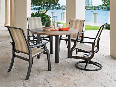Telescope Casual St. Catherine MGP Sling Recycled Plastic Dining Set TCSTCATHDINSET2