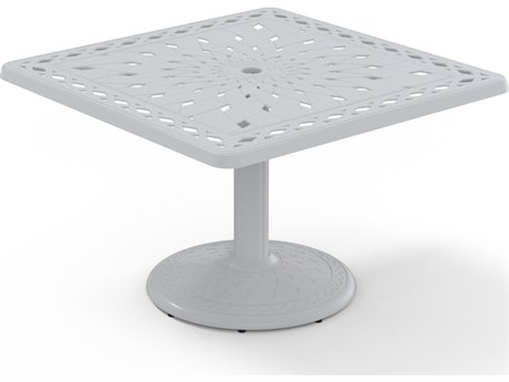 Telescope Casual Cast Aluminum 36 Square Chat Table