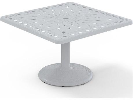 Telescope Casual Cast Aluminum 36 Square Chat Table