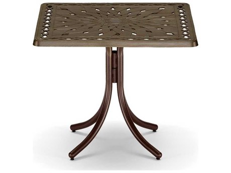 Telescope Casual Cast Aluminum 36 Square Dining Table
