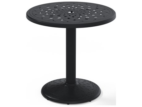 Telescope Casual Cast Aluminum 30 Round Dining Table