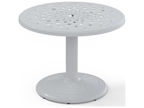 Telescope Casual Cast Aluminum 30 Round Chat Table TCT5403580BAS