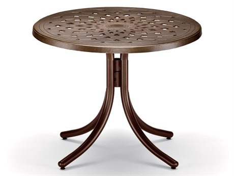 Telescope Casual Cast Aluminum 30 Round Chat Table TCT540CHA