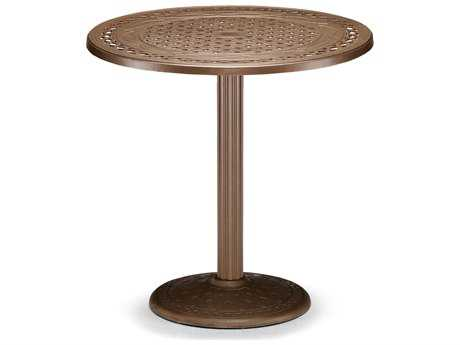 Telescope Casual Cast Aluminum 36 Round Bar Table