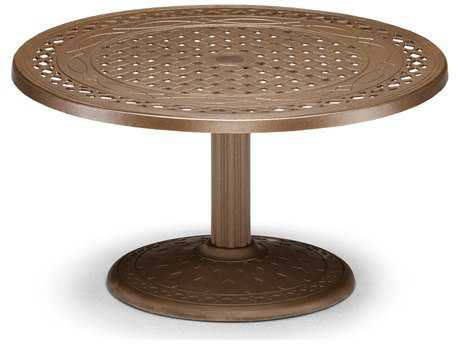Telescope Casual Cast Aluminum 36 Round Chat Table