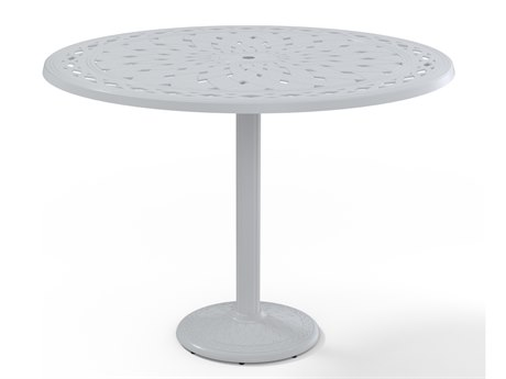 Telescope Casual Cast Aluminum 56 Round Bar Table