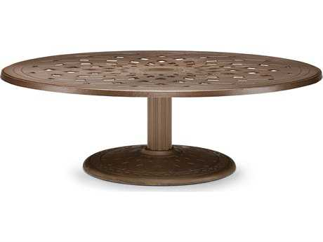 Telescope Casual Cast Aluminum 56 Round Chat Table
