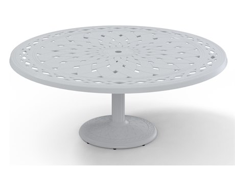 Telescope Casual Cast Aluminum 56 Round Chat Table TCT7201780BAS