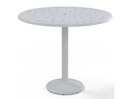 Telescope Casual Cast Aluminum 48 Round Bar Table