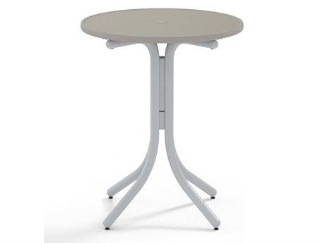 Telescope Casual Banded Hammered 30'' Round Balcony Height Table