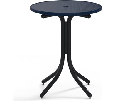 Telescope Casual Obscure Acrylic 30'' Round Balcony Height Table