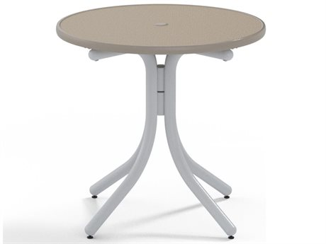 Telescope Casual Obscure Acrylic 30'' Dining Height Round Table