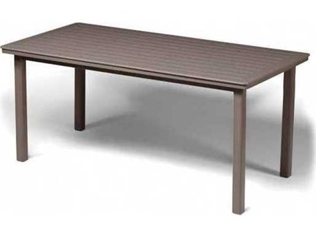 84'' x 42'' Rectangular Marine Grade Polymer Dining Table