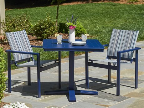 Telescope Casual Tribeca Sling Aluminum Dining Set