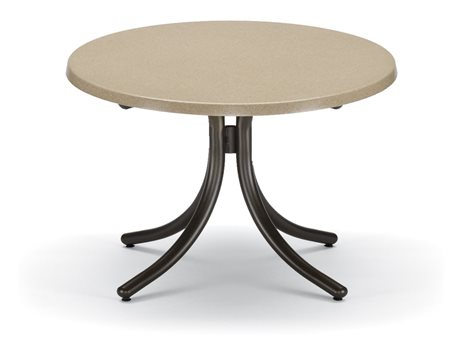 Telescope Casual Werzalit Top 30 Round Chat Height Table