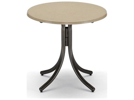 Telescope Casual Werzalit Recycled Plastic 30 Round Dining Table