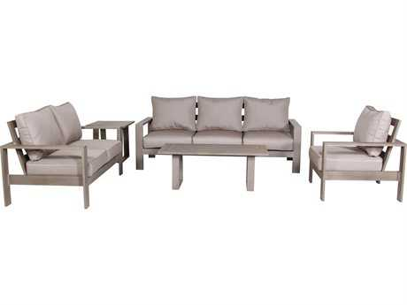 Teva Aruba Aluminum Cushion Lounge Set