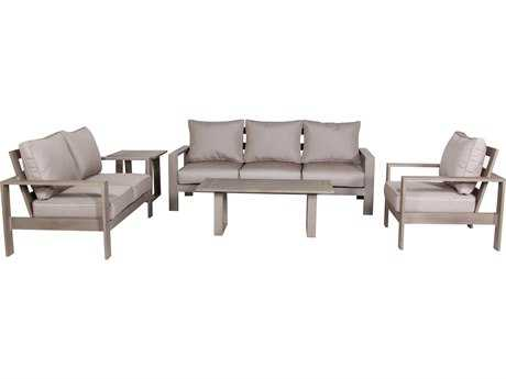 Teva Aruba Aluminum Deep Seating Set for 6