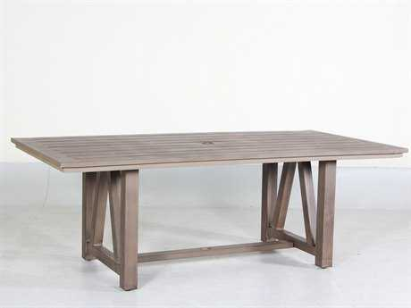 Teva Aruba Aluminum 42W x 84D Dining Table