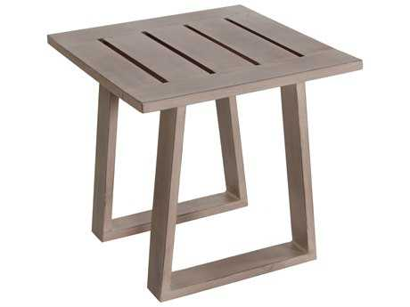 Teva Aruba Aluminum 24W x 22H End Table PatioLiving