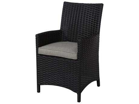 Teva Maui Set of 2 Viro Wicker Dining Chairs with Arms